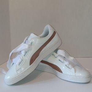 New in Box Puma Patent Sneakers